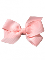 "No Slippy Hair Clippy Whitney 3.5"" Princess Bow Pink"
