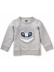 Tea Collection Haiiro Popover Med Heather Grey (Baby Boys)