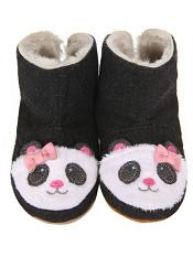 Robeez Panda Bootie Black Soft Soles