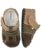 pediped Harvey Olive/Brown