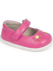 Smaller Steps By See Kai Run Aviva Hot Pink