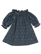 Hatley Chambray Blouse Discharge Anchors