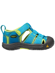 KEEN Newport H2 Hawaiian Blue/Green Glow (Toddler)