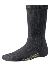 SmartWool Kids Hiking Ultra Light Crew Charcoal