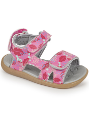 See Kai Run Makena Hot Pink Floral